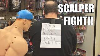 getlinkyoutube.com-PRANKING FAT SCALPER GUY at ToysRus!! WWE Wrestling Figure Toy Hunt