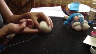baby doll with pacifier  /bebe con chupete  1/3..proyecto 78
