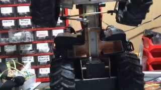 Rc tractors conversion RC Bruder case puma CONVERSION 4x4