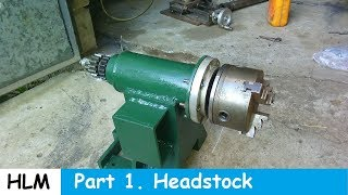 getlinkyoutube.com-Homemade lathe part 1