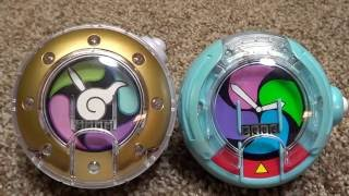 getlinkyoutube.com-Yo-Kai Watch type U and Dream Watch Review.