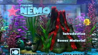 Finding Nemo: Disc 2: UK DVD Menu