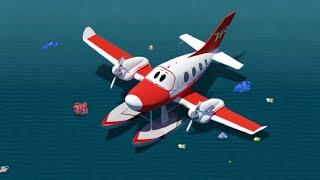getlinkyoutube.com-Топ-10 серий первого сезона - Будни аэропорта - Мультики про самолеты и машинки