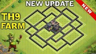 getlinkyoutube.com-NEW Update TH9 FARMING BASE - TH11 DECEMBER UPDATE | TH9 Hybrid | Clash of Clans