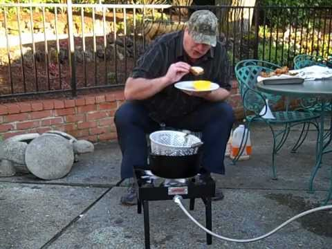Deep Fried Chicken Driveway Chef Style
