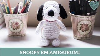 Luciana Ponzo - Snoopy em Amigurumi