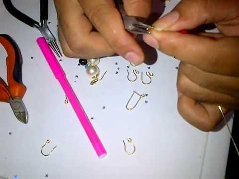 ganchos simple y largo (alambrismo)