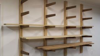How to build a Lumber Rack by Jon Peters