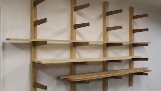 getlinkyoutube.com-How to build a Lumber Rack by Jon Peters