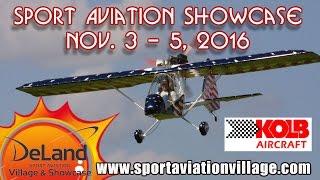 getlinkyoutube.com-Kolb Aircraft, Kolb FireFly, DeLand Sport Aviation Vilage Showcase, Nov. 3-5, 2016.