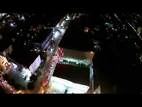 My first DJI Phantom 2 Night Flight