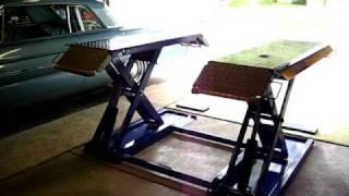 Auto Mid Rise Pad Scissor Lift