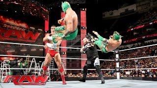 getlinkyoutube.com-The Lucha Dragons vs. Kevin Owens & Alberto Del Rio: Raw, June 13, 2016