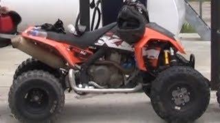 getlinkyoutube.com-KTM 525 XC Quad Test Rip