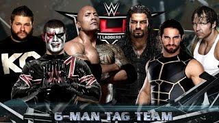 getlinkyoutube.com-WWE 2K16 - We Gotta Play Fair Dude [6-Man Tag Team Match] Father Vs. Son