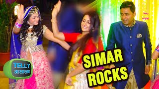 getlinkyoutube.com-Deepika Samson Aka Simar Dances At Jyotsana Nitesh Sangeet Function