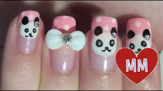 Cute Panda Nail Tutorial