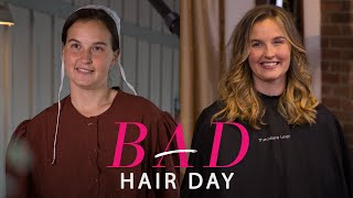 getlinkyoutube.com-A Stunning Hair Transformation for One Amish Woman—Bad Hair Day—Glamour