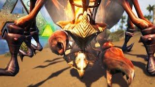 getlinkyoutube.com-Ark Survival Evolved - 4 BOOB DEMON WOMAN KICKS DODO 1000 FEET - (Ark Modded Gameplay)