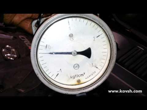 Как проверить степень загрязнения топливного фильтра на HYUNDAI Matrix 1.5 CRDi
