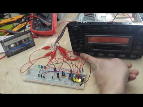 Lexus is200/300 AUX/BT/SD/USB hack #2: Using ff/rew buttons