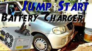 getlinkyoutube.com-How To Jump Start a Car In 5 Minutes ! - With DIY SMPS Dead Car Battery Charger