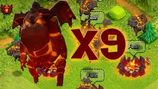 getlinkyoutube.com-9 MASTINI LAVICI ALL'ATTACCO (livello 3) - Clash of Clans ITA