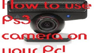 getlinkyoutube.com-How to use Ps3 camera on your Pc!