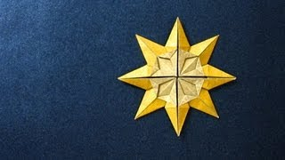 getlinkyoutube.com-Origami Instructions: Star Doris (Klaus-Dieter Ennen)
