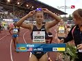 Lolo Jones Wins in Ostrava