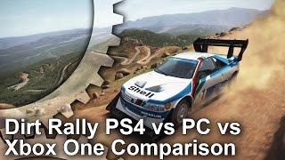 Dirt Rally - PS4/Xbox One/PC Grafikai Összehasonlítás