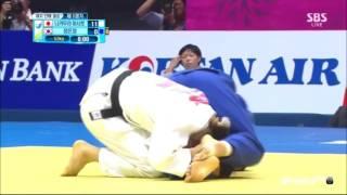 getlinkyoutube.com-인천아시안게임 유도 여자 단체전 결승 조르기 실신 경기 하이라이트
