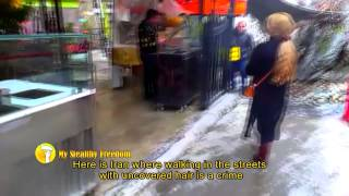 getlinkyoutube.com-واکنش مردم به پیاده روی بدون روسری یک زن ایرانی  Iranian woman walking with uncovered hair