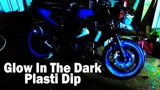 How To Glow In The Dark Plasti Dip - Ninja 250