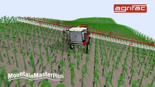 Agrifac Condor MountainMasterPlus - Optimal stability and comfort