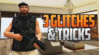 getlinkyoutube.com-GTA 5 Online - 3 NEW GLITCHES & TRICKS (Super Health Glitch, Weapons in Apartment & Secret Location)