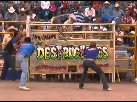 LOS DESTRUCTORES, JARIPEO DE FERIA VICTORIA DE CORTAZAR 2013