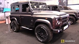getlinkyoutube.com-2014 Land Rover Defender Kahn 90 Wide Track by Chelsea Truck Company - Exterior, Interior Walkaround