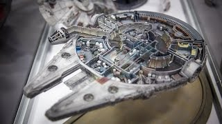 getlinkyoutube.com-Cutaway Millennium Falcon Model Miniature!