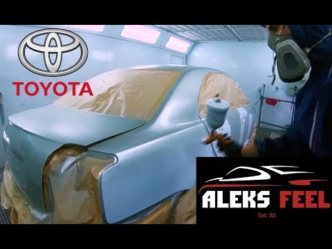 Полная покраска. Ремонт Toyota Avensis #2