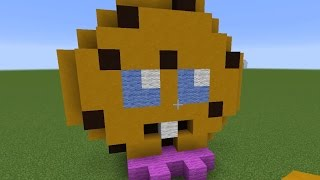 getlinkyoutube.com-Shopkins - Let's Build a Shopkins Cookie Statue - Minecraft