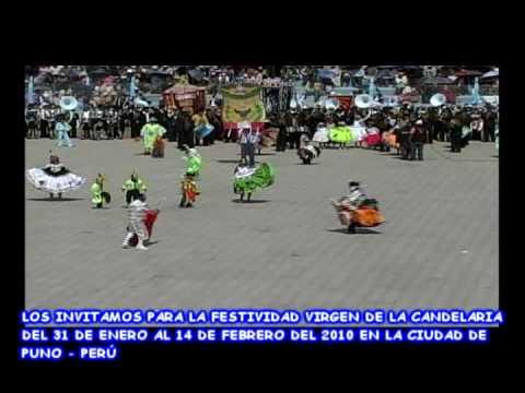 Conjunto Folklorico Waca Waca Santa Rosa 2009   Coreografía