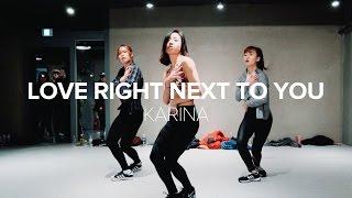 getlinkyoutube.com-Love Right Next To You - Karina / May J Lee Choreography