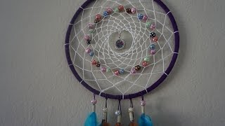 getlinkyoutube.com-How to make a beautiful dreamcatcher