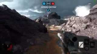 getlinkyoutube.com-AMD FX-8350/XFX R9 390: Star Wars Battlefront BETA Multiplayer(16 Player) [1080p/60FPS][ULTRA]