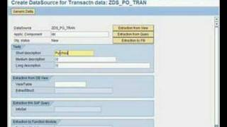 getlinkyoutube.com-SAP BW - How To...Create a generic extractor from SAP R/3