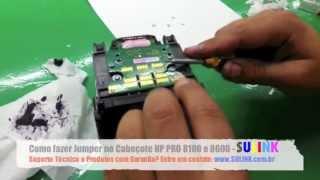 Como fazer o Jumper nas HP PRO 8100 8600 8610 8620 - SULINK