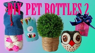getlinkyoutube.com-10 DIY Creative Ways to Reuse / Recycle Plastic Bottles part 2