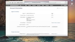 getlinkyoutube.com-شرح تغيير بيانات حساب Apple ID (الايميل + الباسورد ...ألخ)