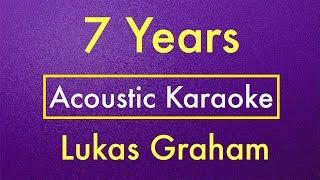getlinkyoutube.com-7 Years - Lukas Graham   Karaoke Lyrics (Acoustic Guitar Karaoke) Instrumental